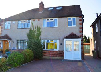 Thumbnail 4 bed semi-detached house for sale in Danetree Road, West Ewell, Surrey.