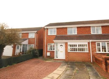 Thumbnail 3 bed semi-detached house to rent in Verbena Close, Stoke Prior, Bromsgrove