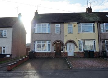 Thumbnail 3 bed end terrace house to rent in Crossway Road, Coventry