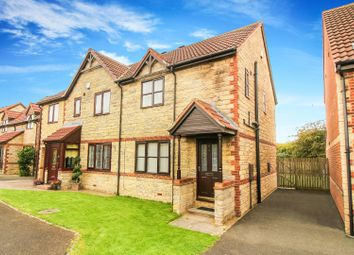 Thumbnail 3 bed semi-detached house for sale in Victoria Court, West Moor, Newcastle Upon Tyne