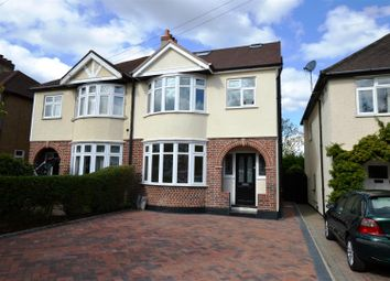 Thumbnail 4 bed semi-detached house for sale in Vale Road, Worcester Park