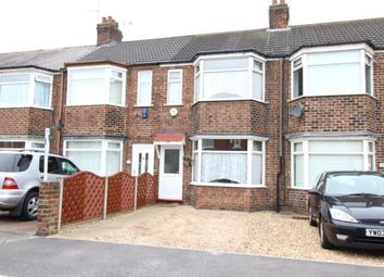 Thumbnail 3 bedroom terraced house to rent in Roslyn Road, Hull