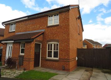 Thumbnail Semi-detached house to rent in Leveret Close, Chellaston, Derby