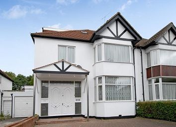 Thumbnail 4 bed semi-detached house to rent in Dunstan Road, Golders Green NW11,