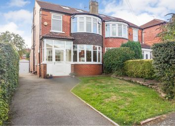 Thumbnail 4 bed semi-detached house for sale in Kingswood Avenue, Leeds