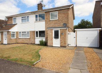 Thumbnail 3 bed semi-detached house for sale in Quorn Close, Newborough, Peterborough