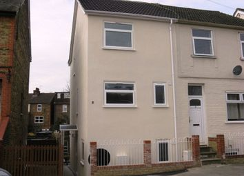 Thumbnail 4 bed semi-detached house to rent in Victoria Road, Redhill