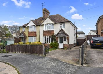 Thumbnail 3 bedroom semi-detached house for sale in St. James Avenue, Bexhill-On-Sea