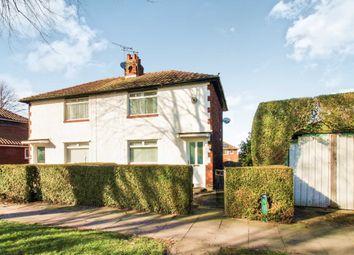 Thumbnail 2 bed semi-detached house for sale in Lediard Avenue, Carlisle