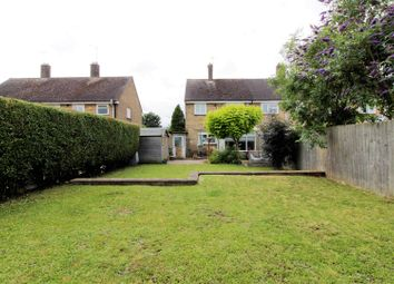 Thumbnail 2 bed semi-detached house for sale in Vergette Road, Glinton, Peterborough