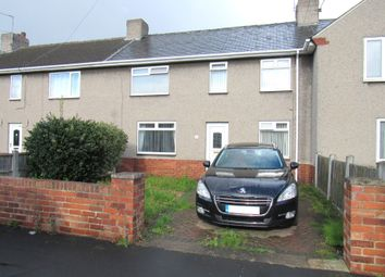 Thumbnail 3 bed terraced house for sale in Grangefield Ave, Rossington, Doncaster