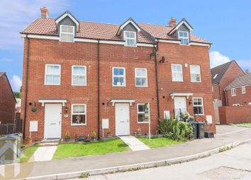 Thumbnail 3 bed town house for sale in Cloatley Crescent, Royal Wootton Bassett, Swindon