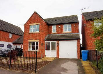 Thumbnail 4 bed detached house for sale in Wood Street, Warsop