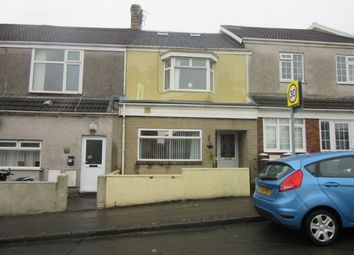 Thumbnail 4 bed terraced house to rent in Ysgol Street, Port Tennant, Swansea.