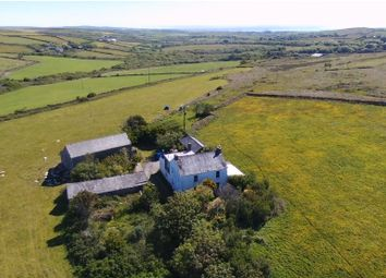 Thumbnail 4 bed farmhouse for sale in St. Just, Penzance