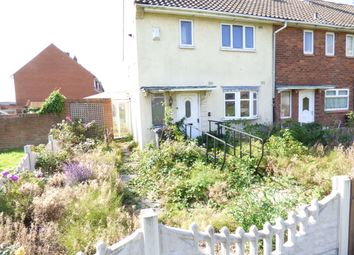 Thumbnail 2 bed end terrace house for sale in Cavendish Road, Walsall
