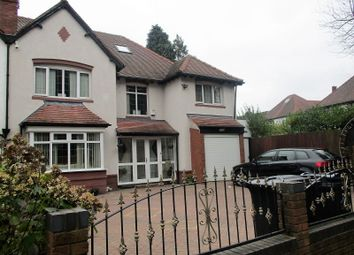 Thumbnail 7 bed semi-detached house for sale in West Drive, Handsworth Wood