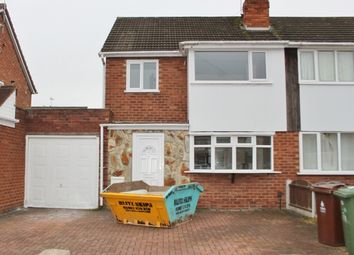 Thumbnail 3 bed semi-detached house to rent in Arundel Road, Willenhall