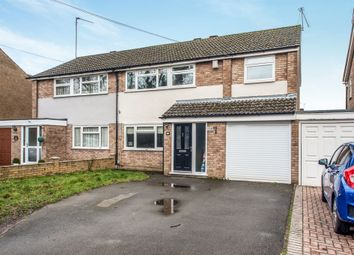 Thumbnail 4 bed semi-detached house for sale in High Road, Leavesden, Watford