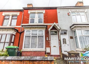 Thumbnail 3 bed terraced house to rent in Marlborough Road, Bearwood
