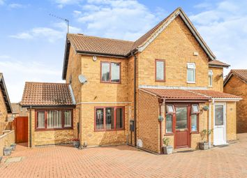 Thumbnail 4 bed semi-detached house for sale in Willowtree Close, Hamilton, Leicester