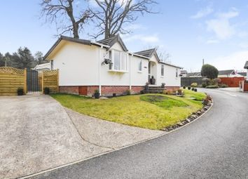 Thumbnail 2 bed mobile/park home for sale in The Crescent, Oaktree Park, St. Leonards, Hampshire