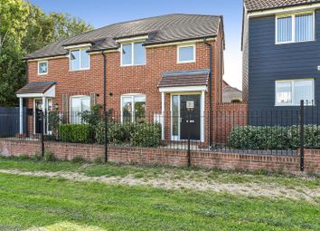 3 bed semi-detached house for sale in Portland Close, Andover SP11