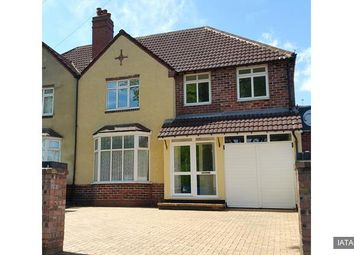 Thumbnail 4 bedroom semi-detached house for sale in Princes Avenue, Walsall