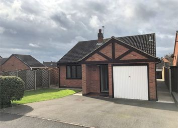 Thumbnail 2 bed detached bungalow for sale in Athlestan Way, Stretton, Burton-On-Trent, Staffordshire