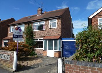 Thumbnail 4 bed semi-detached house for sale in Hallam Fields, Castle Donington, Derby