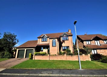 Thumbnail 4 bed detached house for sale in Lambton Court, Oakerside Park, Peterlee, County Durham
