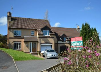 Thumbnail 4 bed detached house for sale in Cudmore Park, Tiverton