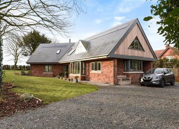 Thumbnail 4 bed detached house for sale in Little Weighton Road, Walkington, Beverley