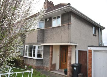 Thumbnail 3 bedroom semi-detached house to rent in Beckington Road, Lower Knowle, Bristol