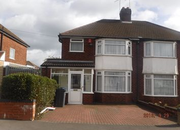 Thumbnail 3 bed semi-detached house for sale in Oscott School Lane, Birmingham