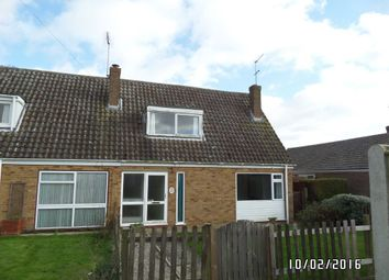 Thumbnail 2 bedroom end terrace house to rent in Manor Walk, Kessingland, Lowestoft