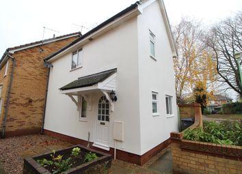Thumbnail 2 bedroom end terrace house to rent in Denham Close, Bury St. Edmunds