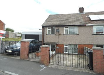 Thumbnail 3 bed semi-detached house for sale in Maesgwyn, Cwmdare, Aberdare
