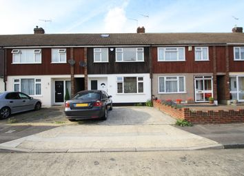 Thumbnail 3 bed terraced house to rent in Rushdon Close, Grays