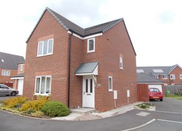 Thumbnail 3 bed detached house for sale in Yew Tree Close, Spring Gardens, Shrewsbury