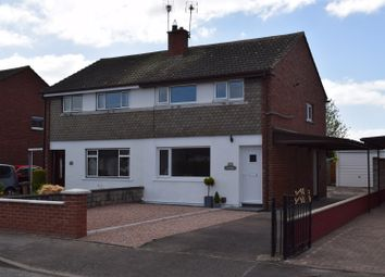 Thumbnail 3 bed semi-detached house for sale in Auchenkeld Avenue, Dumfries