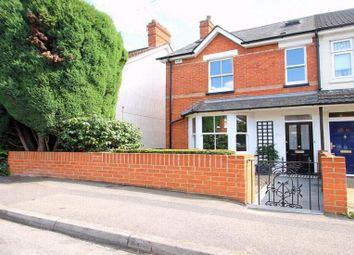 Thumbnail 4 bed semi-detached house to rent in Gordon Avenue, Camberley