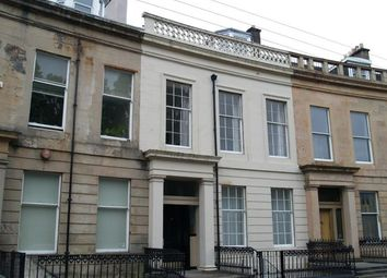 Thumbnail 2 bed flat to rent in Queens Crescent, Glasgow