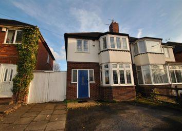 Thumbnail 3 bedroom semi-detached house for sale in Brandwood Road, Kings Heath, Birmingham