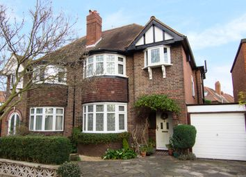 Thumbnail 4 bedroom semi-detached house for sale in West Barnes Lane, New Malden