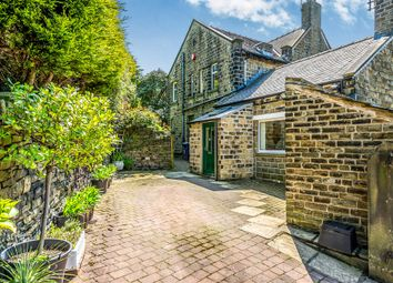 Thumbnail 4 bed detached house for sale in Far Bank, Shelley, Huddersfield