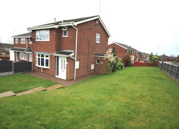 Thumbnail 3 bed detached house for sale in Weir Grove, Kidsgrove, Stoke-On-Trent