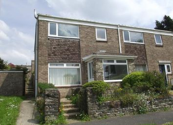 Thumbnail 3 bed end terrace house for sale in Liskeard, Cornwall