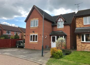 Thumbnail 4 bed detached house for sale in Ilmer Close, Rugby