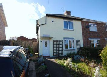 Thumbnail 2 bed semi-detached house for sale in Jubilee Crescent, Gosforth, Newcastle Upon Tyne